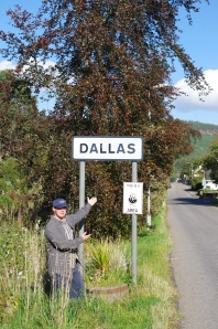 Dallas in Dallas, Moray October 1, 2014