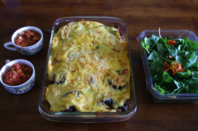 Moussaka for Lunch