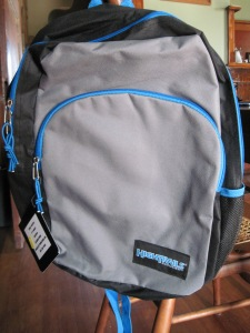 New backpack - $3.00