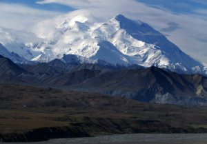Mount McKinley, now named Denali, is the tallest peak in North America and is located in Denali National Park and Preserve, Alaska. (Photo: Becky Bohrer, AP)