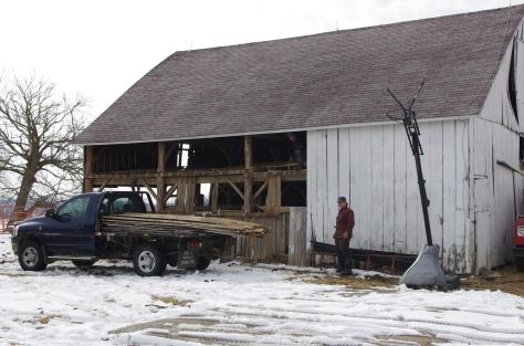 Horse Barn - Lamme 3-5-2014 (1)