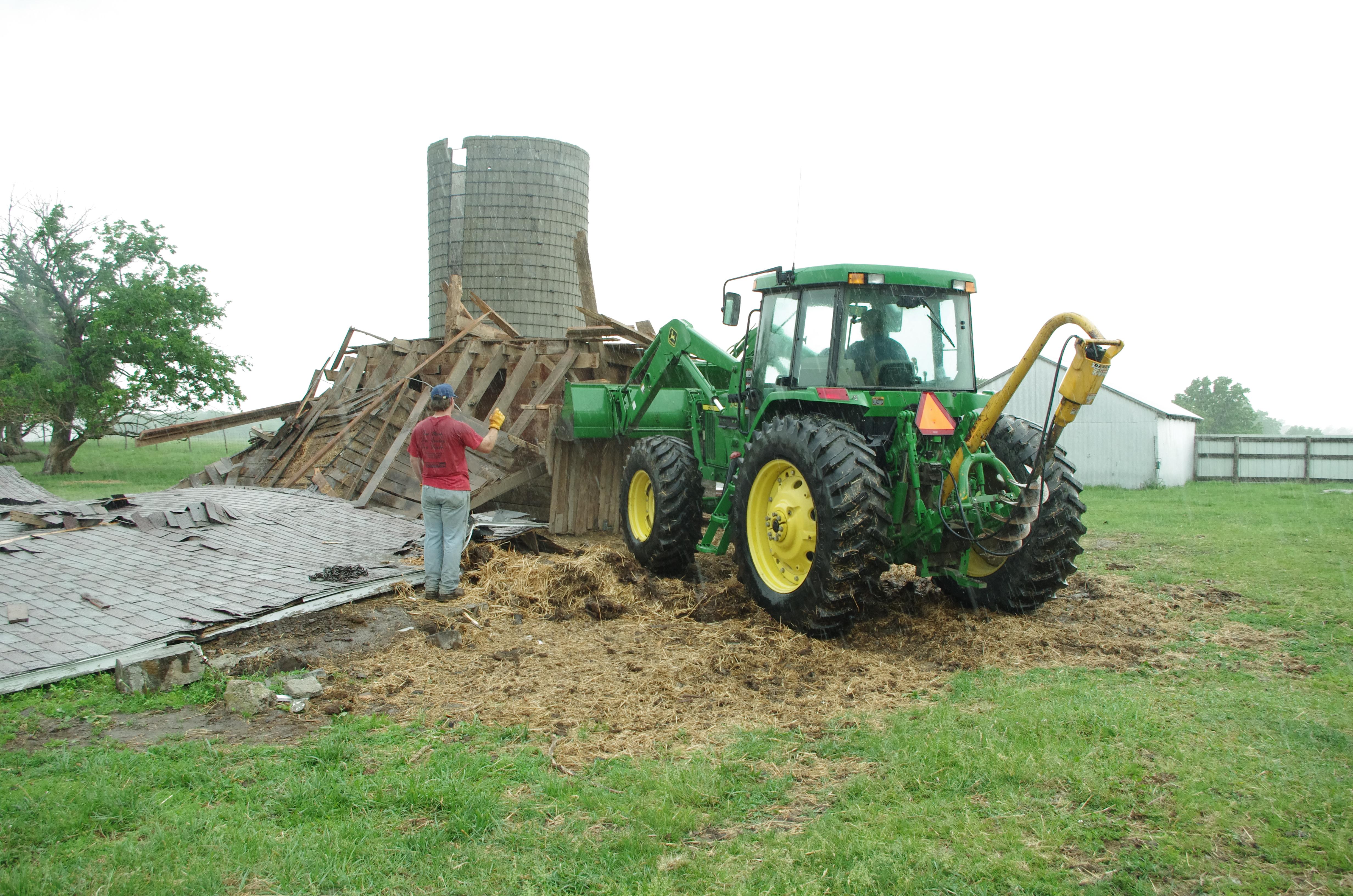 Horse Barn teardown 5-27-14 (1)